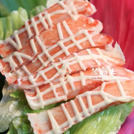 ☆日式風味蟹味棒☆30入 270g/盒 。蟹肉海鮮拉沙輕食。解凍後即可食用【 陸霸王】