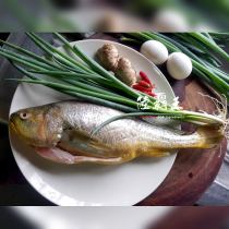 【限時第二件5折】☆大黃魚☆新鮮黃魚 去鱗去肚去鰓 全新生活 優質蛋白質640G±10% (下單共2盒)【陸霸王】