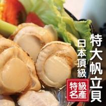 ☆日本頂級帆立貝M 5顆☆感謝電視媒體推薦 超大尺寸/烤肉【陸霸王】
