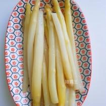 涼拌白蘆筍 300g 去皮熟食 低GI 蔬菜 解油膩清爽開胃【陸霸王】