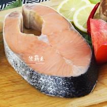 【免運】☆鮭魚厚切2號 6kg±10%/組(16隻/組) ☆10元硬幣高度  智利鮭切 低GI 【陸霸王】