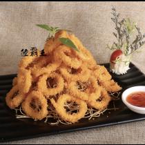☆香酥魷魚圈☆酥炸 點心 料理 500G/包 【陸霸王】