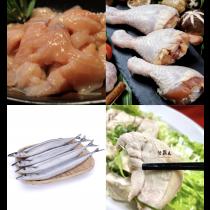 【 低GI鮮食】H套餐7件組-陸霸王套餐任選2組免運專區