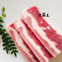 【 買1送1共2包】↘5折☆霜降雪花牛燒烤片☆300g/包 【 陸霸王】