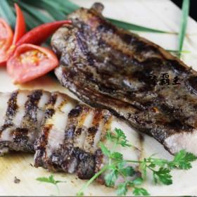 ☆好吃鹹豬肉☆320g±20 蒜香 黑胡椒 好吃回購率超高 石板烤肉 年菜【 陸霸王】