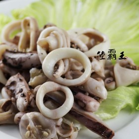 鮮魷魚圈 1kg/包 新鮮Q彈有嚼勁【陸霸王】